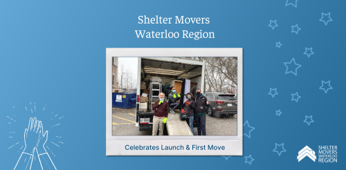 Shelter Movers Waterloo team at first move