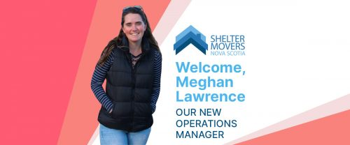 """Image of Meghan Lawerence with the text """"Welcome Meghan Lawrence, Our new operations manager."""""""