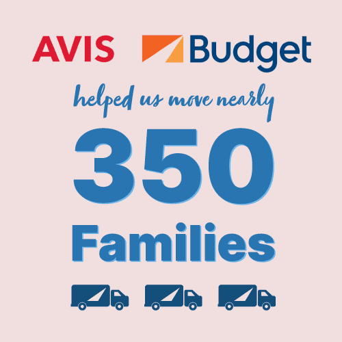 Avis Help us move 350 families