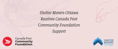 Shelter Movers Ottawa Received Canada Post Foundation Support